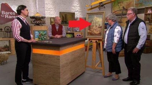 Bei Bares für Rares soll ein Gemälde verkauft werden.