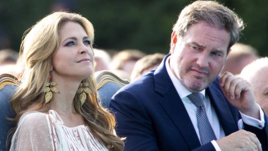 Royals: Prinzessin Madeleine von Schweden und ihr Mann Chris O'Neill.