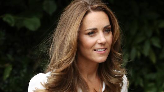 Kate Middleton mit neuem Look. Die Herzogin ist sichtlich erblondet.