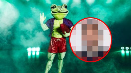 Versteckt ER sich unter der Maske des Froschs?
