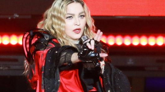 So sieht Madonna nicht mehr aus.
