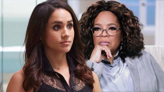 """Meghan Markle berichtet im Gespräch mit Oprah Winfrey von """"unüberwindbaren"""" Ereignissen."""