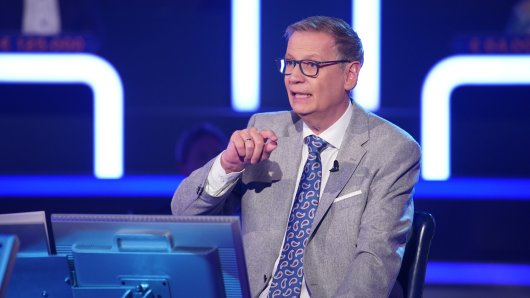 """""""Wer wird Millionär?""""-Moderator Günther Jauch hatte einen besonders skurrilen Kandidaten auf dem Ratestuhl."""