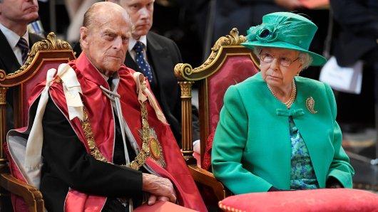 Queen Elizabeth II. und ihr Mann Prinz Philip waren 74 Jahre verheiratet. (Archivfoto)