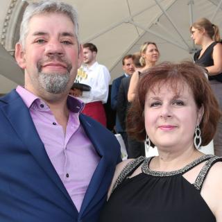 """Das """"Bauer sucht Frau""""-Traumpaar Uwe und Iris Abel lernten sich vor zehn Jahren kennen."""