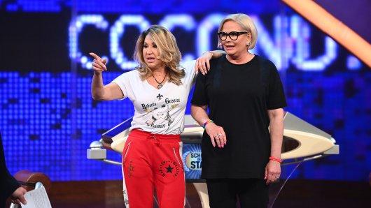 """Die """"Schlag den Star""""-Kontrahentinnen Carmen Geiss und Claudia Effenberg brachten die Zuschauer zur Weißglut."""