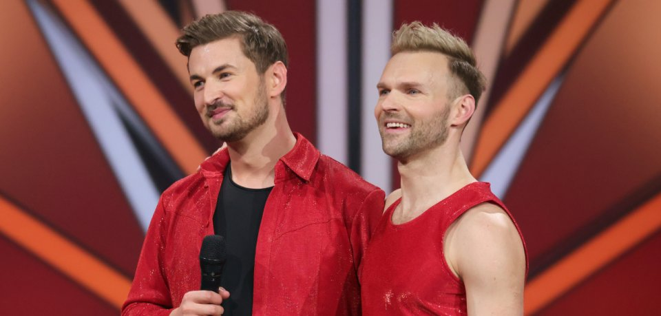 """""""Let's Dance"""": Nicolas Puschmann und Tanzpartner Vadim Garbuzov lassen am Freitag die Hüllen fallen."""