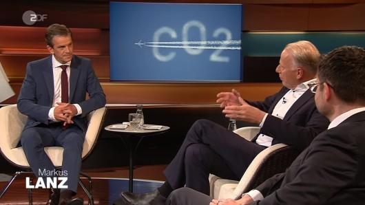 Markus Lanz mit Jürgen Trittin.