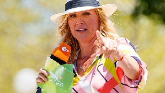 """""""Fernsehgarten""""-Moderatorin Andrea Kiewel muss sich Sonntag auf etwas anderes einstellen."""