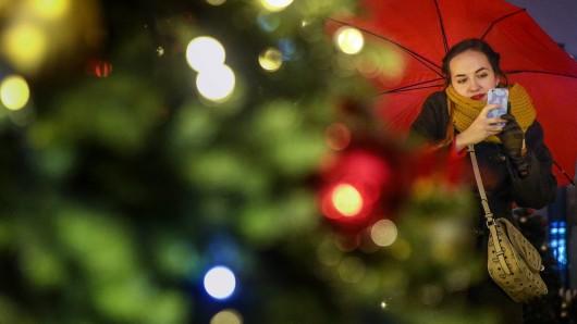 Richtig weihnachtlich wird das Wetter nicht (Symbolbild).