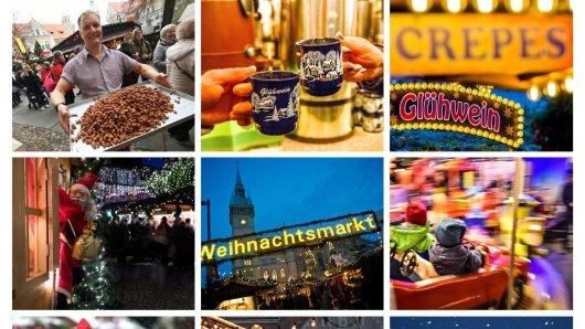 Das sind die schönsten Weihnachtsmärkte in der Region38 und in Niedersachsen.