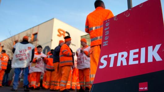 Ver.di ruft erneut zum Streik in Salzgitter auf. Vor allem die Müllabfuhr ist am Donnerstag, 12. April, betroffen.