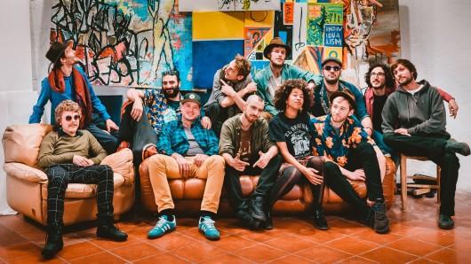 Zeigen Sprachgewandtheit: Die Südtiroler Band Shanti Powa singt auf verschiedenen Sprachen beim Klesmer-Festival in Salzgitter-Bad