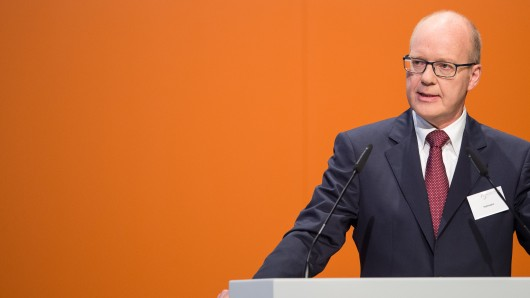 Salzgitter-Chef Heinz Jörg Fuhrmann (Archivbild).