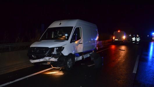 Schadensträchtige Unfälle auf der A7.