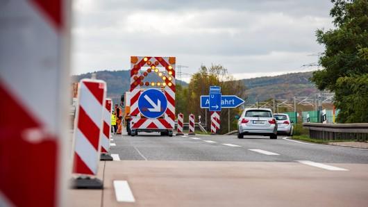 Die A7 wird ab Freitag zwischen Salzgitter und Hildesheim gesperrt (Symbolbild).