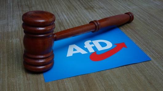 Der Vorsitzende der AfD in Salzgitter wurde wegen eines Gedichts für schuldig gesprochen. (Symbolfoto)