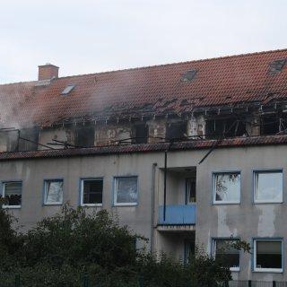 Mehrere Wohnungen in Lebenstedt sind ausgebrannt.