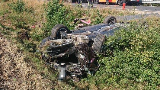 Auf der A39 in Salzgitter hat es einen schweren Unfall gegeben.