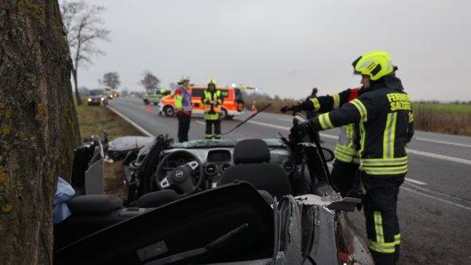 In Salzgitter musste die Feuerwehr eine Frau aus einer misslichen Lage befreien.