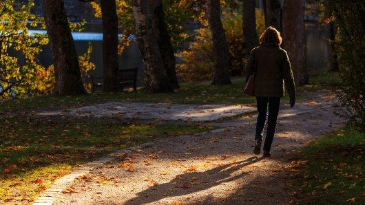 Eine Frau ist im Stadtpark in Salzgitter spazieren gegangen. Dann hat sie etwas Schockierendes erlebt. (Symbolbild)
