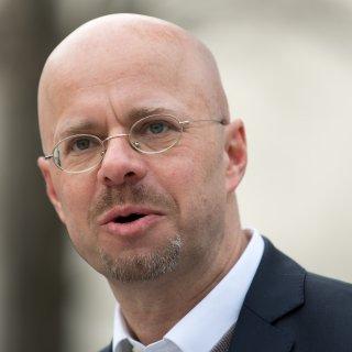 AfD-Politiker Andreas Kalbitz trat in Salzgitter auf.