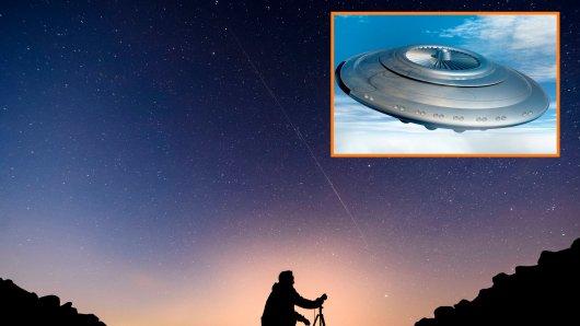 Dieses Bild ist in Ungarn entstanden. Auch dort konnte man die Satelliten sehen.