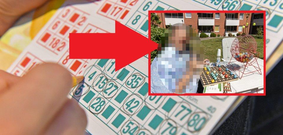 Was für eine Überraschung für Mieter in Salzgitter! Plötzlich stand ER auf ihrer Grünfläche, um mit ihnen Bingo zu spielen.