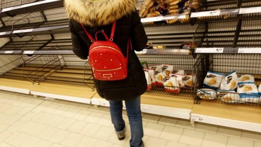 Eine Frau hat in Salzgitter beim Einkaufen Szenen erlebt, die sie stark an Frühjahr 2020 erinnerten. (Symbolbild)