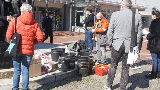 Besondere Aktion in Salzgitter-Lebenstedt zum 8. Mai!