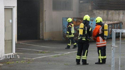Am Samstag geriet ein Öltank in einem Keller in Salzgitter in Flammen.