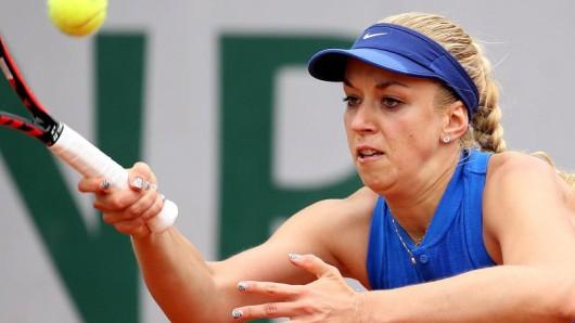Sabine Lisicki hat in Paris ihr Auftaktspiel verloren.