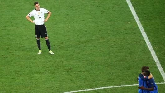 Der Wolfsburger Nationalspieler Julian Draxler beneidet Antoine Griezmann und Blaise Matuidi.