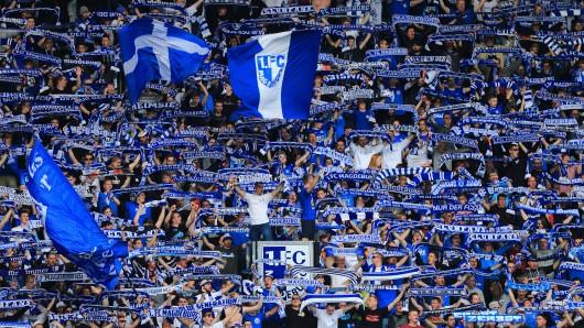 Magdeburg-Fans im Stadion. (Archivbild)
