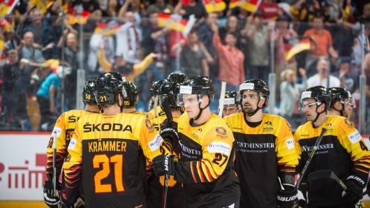 Sind bereit für die Eishockey-WM in Dänemark. Die deutsche Nationalmannschaft. (Archivbild)