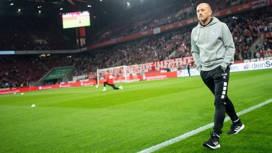 Torsten Lieberknecht vor seinem ersten Spiel als MSV-Trainer in Köln.