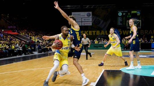 Am Dienstagabend empfangen die Berliner die Basketball Löwen Braunschweig. (Archivbild)