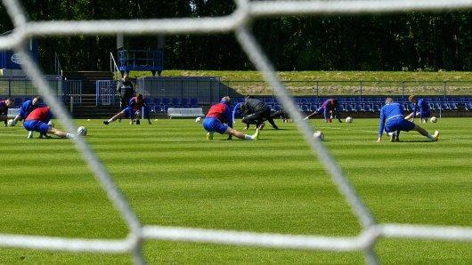 Bereitmachen für die Saison-Fortsetzung: In der 3. Liga wird ab dem 30. Mai wieder gespielt.