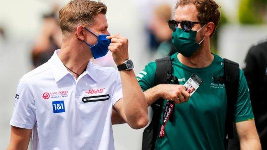 Sebastian Vettel und Mick Schumacher: eine ganz besondere Beziehung.
