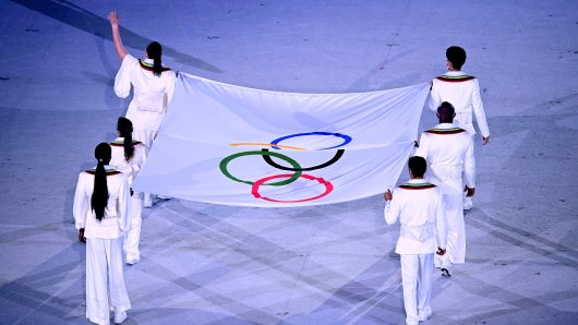 Olympia 2021 hat begonnen.