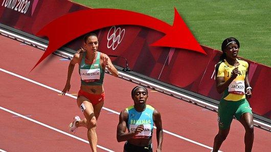 Bei Olympia 2021 blamierte sich Gold-Favoritin Shericka Jackson.