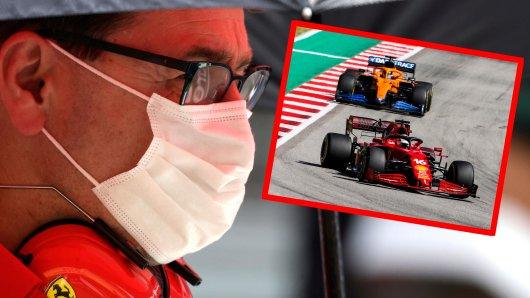 In der Formel 1 macht Ferrari-Teamchef Mattia Binotto eine schonungslose Ansage.