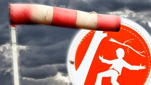 Für den gesamten Süden Niedersachsens und von Sachsen-Anhalt gilt eine amtliche Sturm- bis Unwetter-Warnung. (Symbolbild)