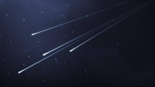 Sternschnuppen-Alarm: In der Nacht vom 17. auf den 18. November kannst du am Nachthimmel die Leoniden sehen. (Symbolbild)