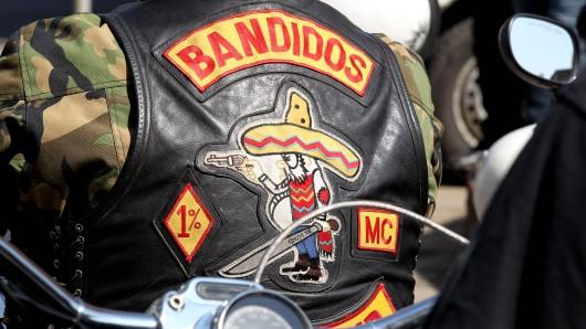 Die Kutte eines Bandidos.