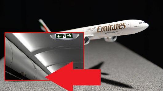 In der Boing 777-300 befindet sich ein Geheimgang, der nur den Crew-Mitgliedern bekannt war – bis jetzt. (Symbolbild)