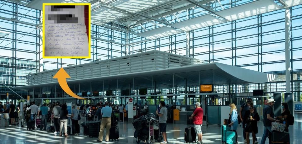 Was für ein kurioser Fund am Flughafen München!