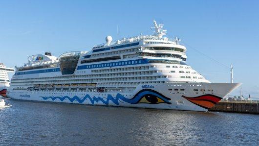Juhu! Das Kreuzfahrt-Schiff Aida legt wieder los. (Symbolbild)