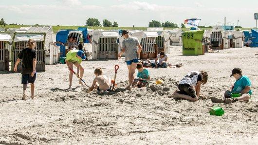 Urlaub an der Nordsee: Am Strand gerieten zwei Familien aneinander - das hatte Konsequenzen. (Symbolbild)