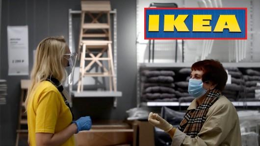In einem Ikea hat eine Kundin eine dreiste Corona-Erfahrung gemacht. (Symbolfoto)